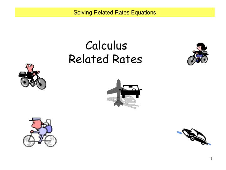 calculus related rates n.