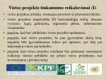 vietos projekto tinkamumo reikalavimai i