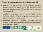 vietos projekto tinkamumo reikalavimai ii