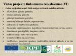 vietos projekto tinkamumo reikalavimai vi1