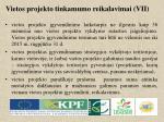 vietos projekto tinkamumo reikalavimai vii1