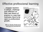 effective professional learning1