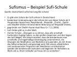 sufismus beispiel sufi schule