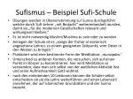 sufismus beispiel sufi schule1