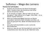 sufismus wege des lernens1