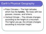 earth s physical geography17