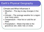 earth s physical geography9