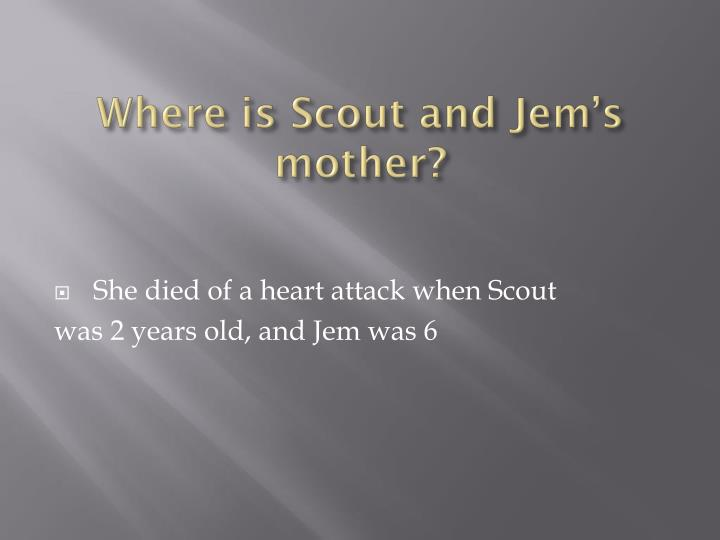 Where is Scout and