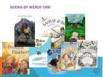 books by wendy o rr