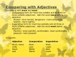 comparing with adjectives1