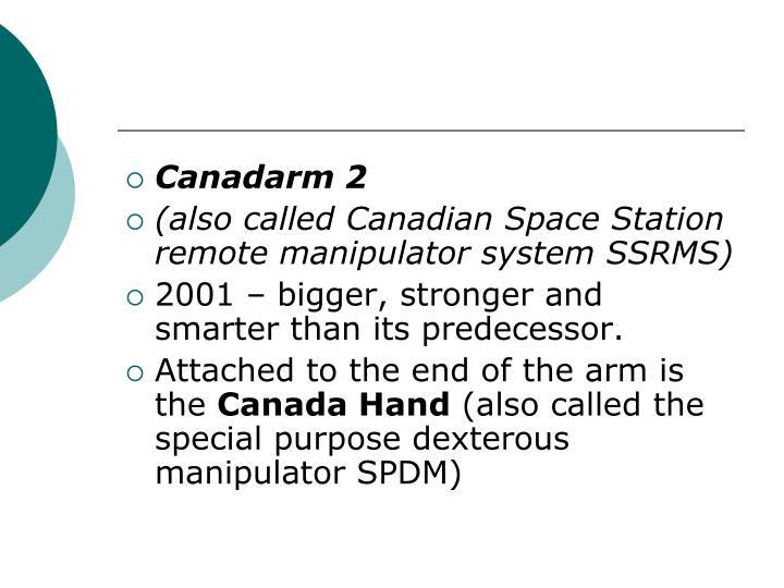 Canadarm 2