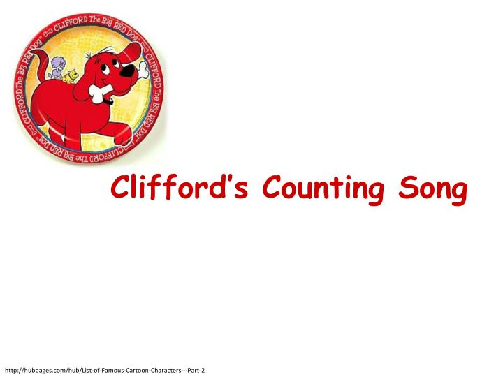 clifford s counting song n.