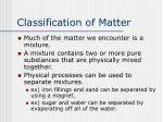 classification of matter2