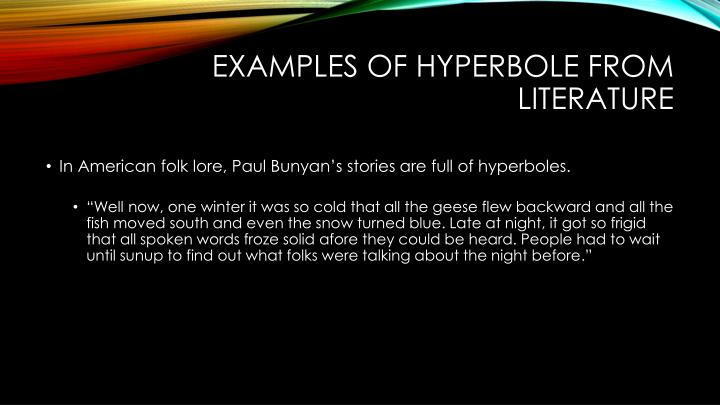 Ppt Hyperbole Powerpoint Presentation Id2070970