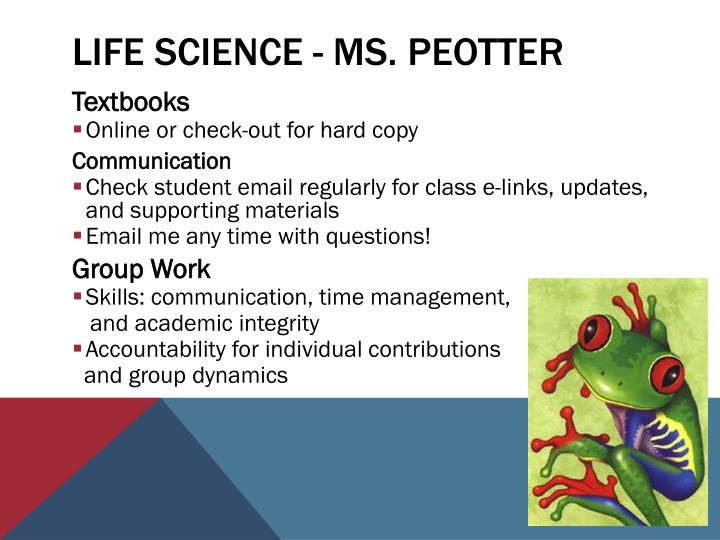 Life Science -