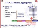 step 2 feature aggregation