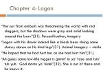 chapter 4 logan