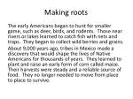 making roots