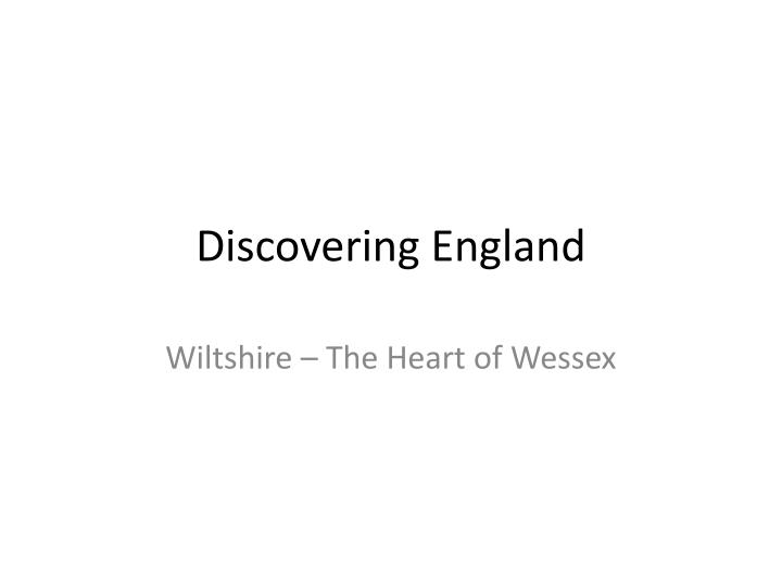 discovering england n.