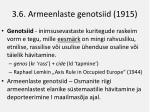 3 6 armeenlaste genotsiid 1915