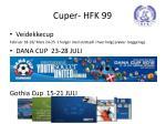 cuper hfk 99