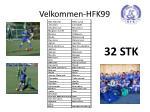 velkommen hfk99