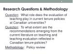research questions methodology1