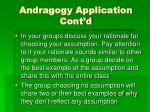 andragogy application cont d1