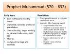 prophet muhammad 570 632