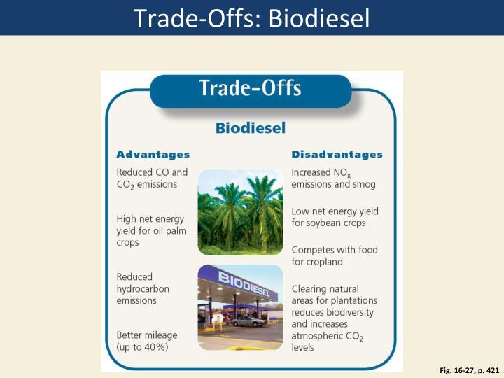 Trade-Offs: Biodiesel