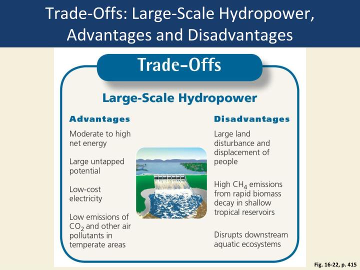 Trade-Offs: Large-Scale Hydropower, Advantages and Disadvantages