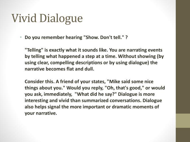 Vivid Dialogue