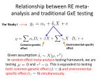 relationship between re meta analysis and traditional gxe testing2