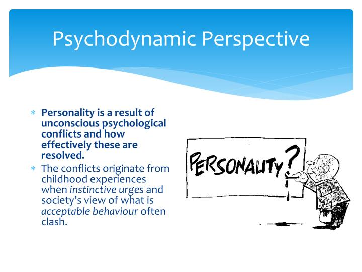 psychodynamic model of personality