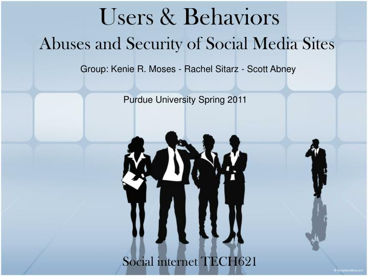 abuses and security of social media sites n.
