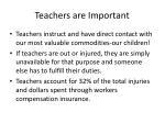 teachers are important