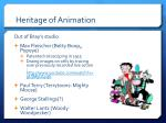 heritage of animation5