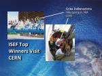 isef top winners visit cern