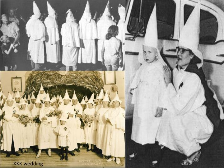 the emergence and history of the ku klux klan Ku klux klan: overview of the ku klux klan, two distinct us hate organizations that have employed terror in pursuit of their white supremacist agenda.