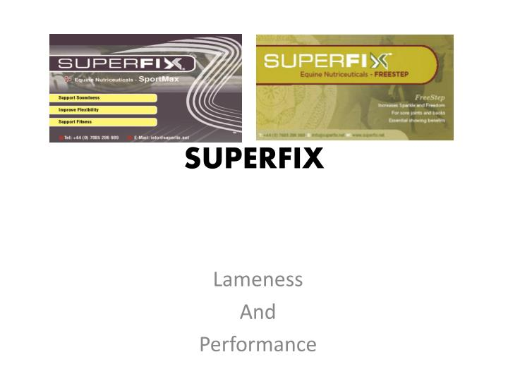 superfix n.