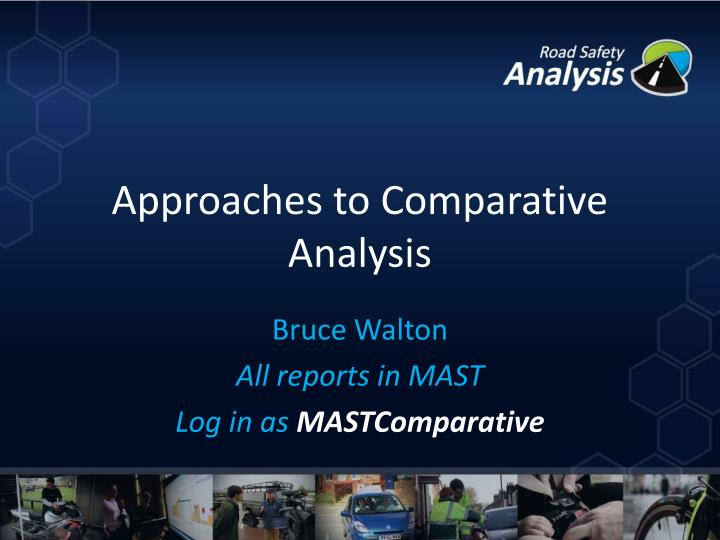 approaches to comparative analysis n.