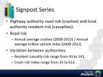 signpost series