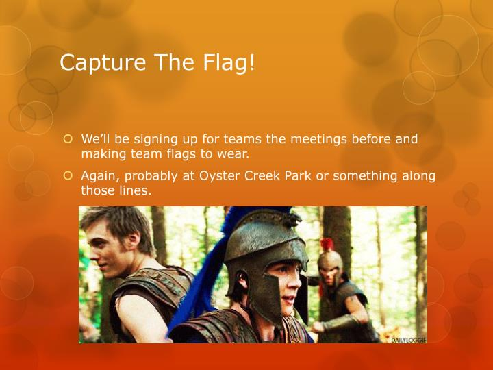 Capture The Flag!