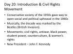 day 20 introduction civil rights movement