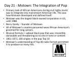 day 21 motown the integration of pop