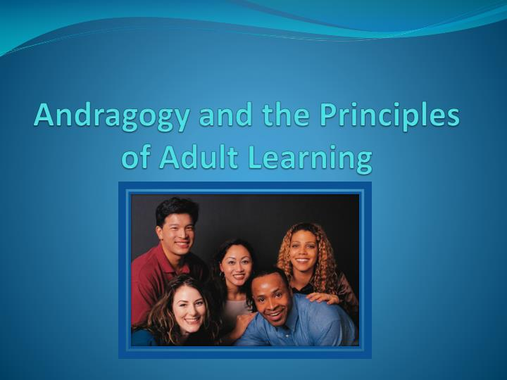 andragogy and the principles of adult learning n.