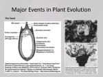 major events in plant evolution3