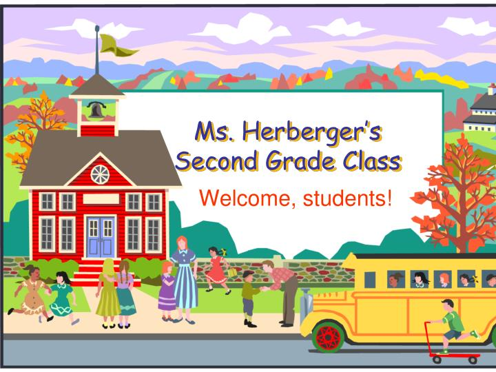 ms herberger s second grade class n.