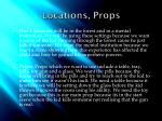 locations props