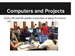 computers and projects
